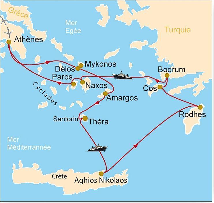 Cm 115 Tr 233 Sors Des 238 Les Grecques Mykonos D 233 Los Amorgos