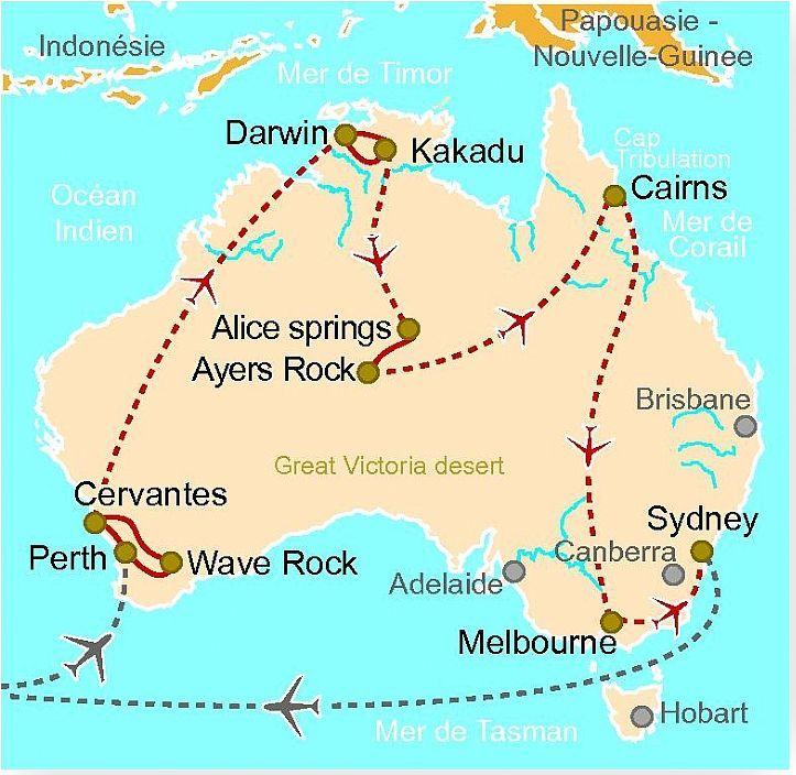 AUS 31 Australie : le temps du rêve - Clio - Voyage Culturel