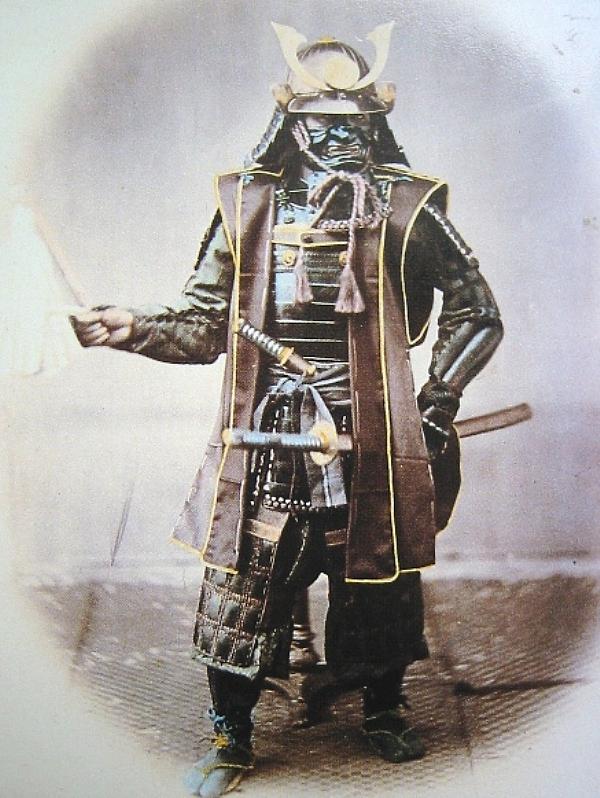 Guerriers et samouraïs dans l'histoire du japon