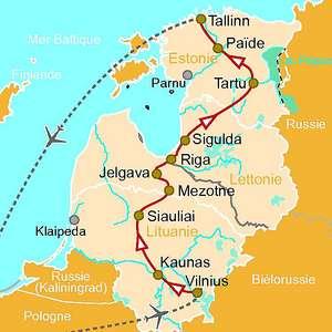 pays baltes voyage - Image