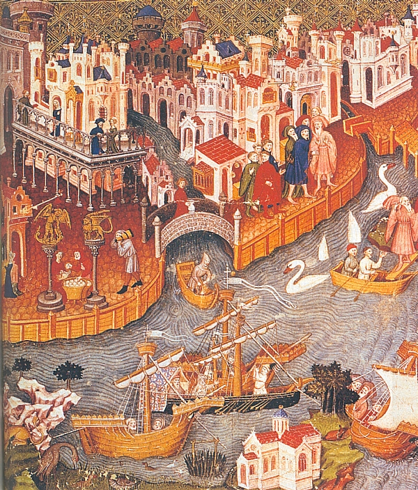 Georges jehel l 39 italie et le maghreb au moyen ge clio voyage culturel - Image du moyen age a imprimer ...