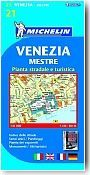 Plan Michelin de  Venise. 1/6 000