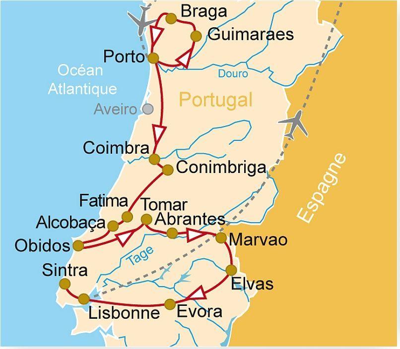POR 31 Le Portugal Lisbonne Porto Braga