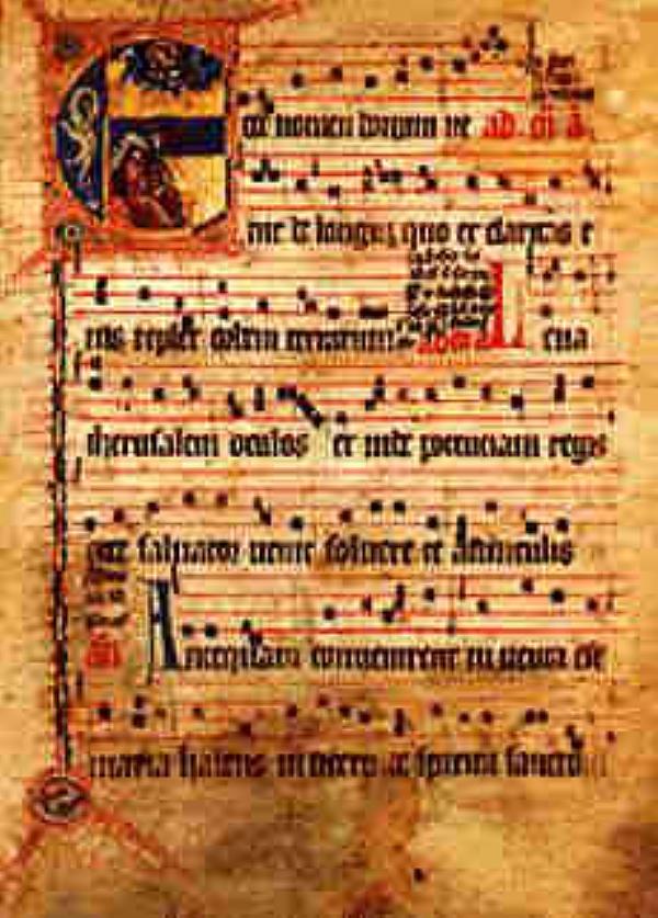 Chant gregorien en 7 lettres
