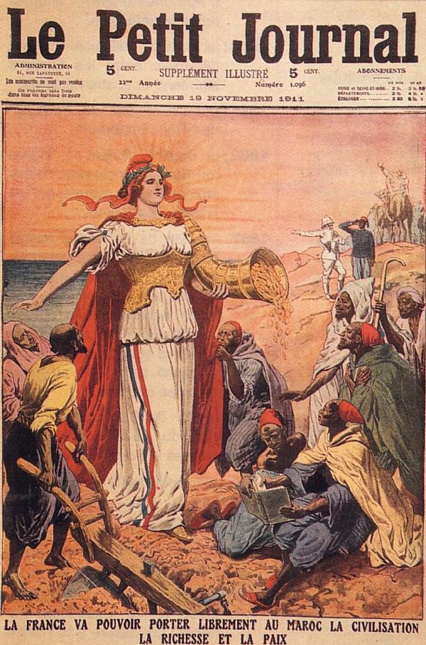 Bernard lugan le maroc et l 39 occident du xvie au xxe for Le journal du pays d auge