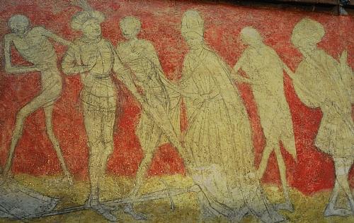 Fr 42 l 39 auvergne romane et le festival de la chaise dieu for Chaise dieu danse macabre