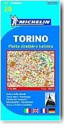 Plan Michelin de  Turin. 1/16 000